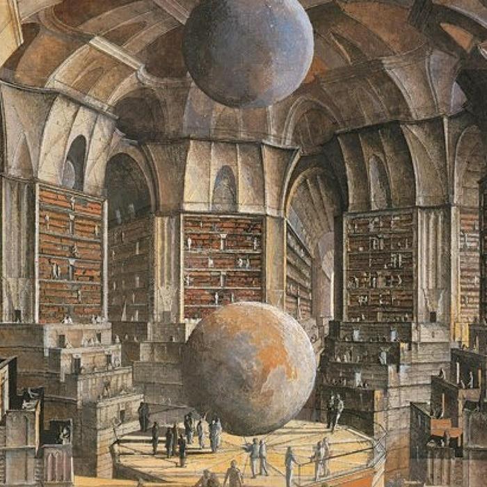 multiplicidad-calvino-biblioteca de babel