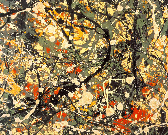 Jackson Pollock-number 8