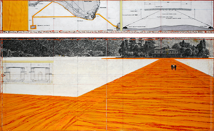 Christo-floating piers