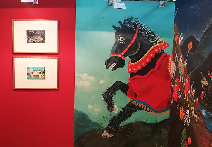 Feria del libro infantil de Bolonia_muestra manuel marsol