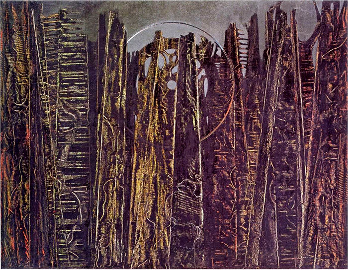 Max Ernst_the forest_1927