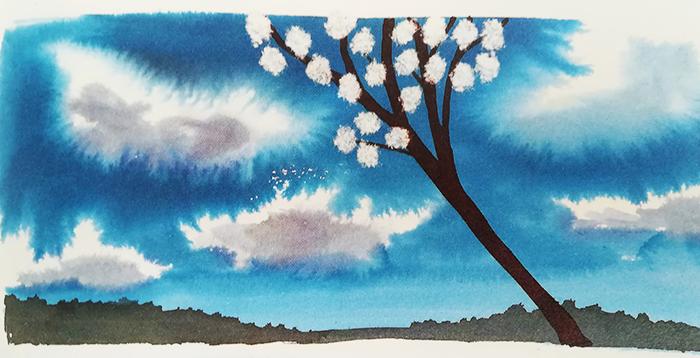 el-río-alessandro-sanna-árbol-en-flor