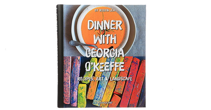 dinner with Georgia O'Keeffe cover