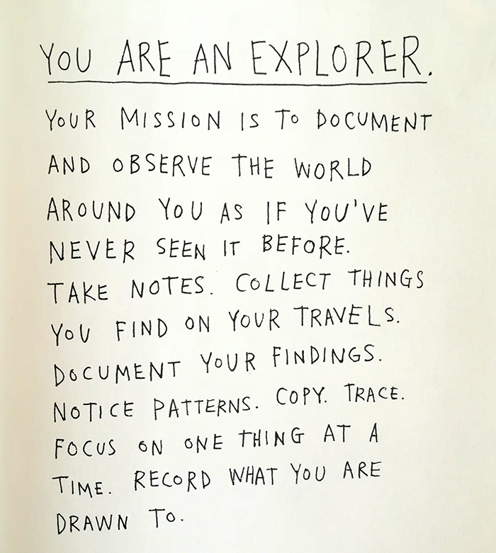 keri smith-you are an explorer