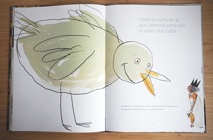 la pajarera de oro_el pájaro que habla