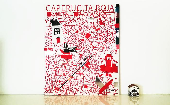 Květa Pakovská-caperucita roja-cover-ninalaluna