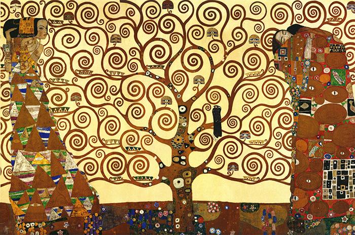 Klimt_tree of life_1800