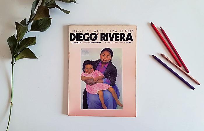 educar al arte-diego rivera-la invitación-nina laluna