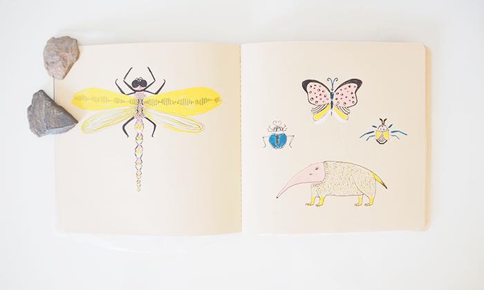 curso cisneros-sketchbook-cuaderno del explorador