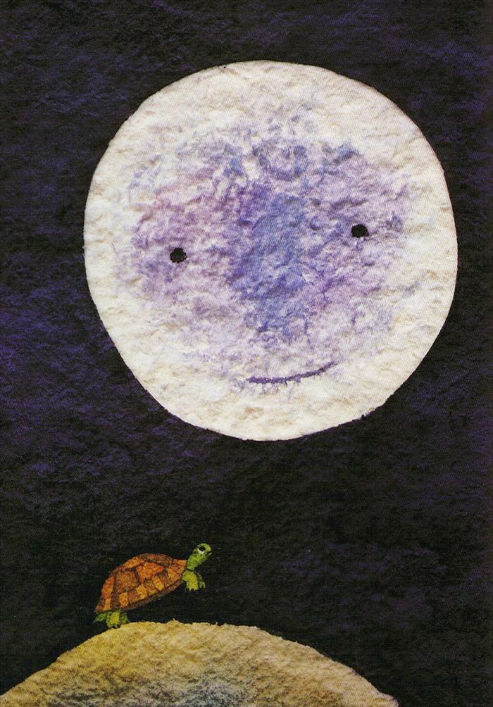 a que sabe la luna-tortuga-kalandraka-michael grejniec-estrellas