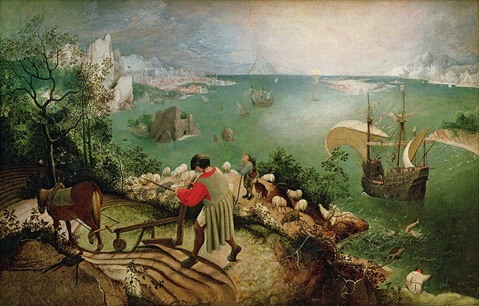 vuelo-Pieter Bruegel-Icarus